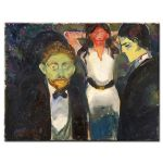 Πίνακας Edvard Munch - Jealousy 1907
