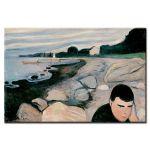 Πίνακας Edvard Munch - Melancholy 1892