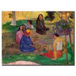 Πίνακας Paul Gauguin - The Conversation 1891