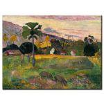 Πίνακας Paul Gauguin - Come here 1891