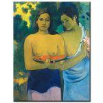 Πίνακας Paul Gauguin - Two Tahitian Women 1899