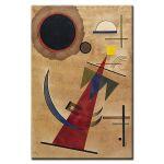 Πίνακας Wassily Kandinsky - Rot in Spitzform 1925