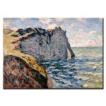 Πίνακας Claud Monet - The cliff of Aval Etretat 1885