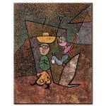Πίνακας Paul Klee - Traveling Circus 1937