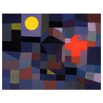 Αφίσα Paul Klee - Fire at Full Moon 1933