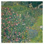 Αφίσα Gustav Klimt - Italian Garden Landscape 1913