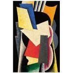 Αφίσα Lyubov Popova - Still Life: Instruments 1916