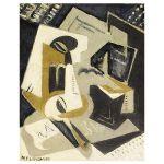 Αφίσα María Blanchard - Cubist Composition 1918