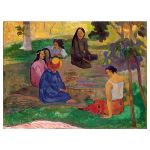 Αφίσα Paul Gauguin - The Conversation 1891