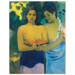 Αφίσα Paul Gauguin - Two Tahitian Women 1899