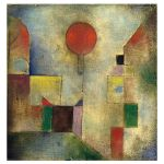 Αφίσα Paul Klee - Red Balloon 1922