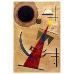 Αφίσα Wassily Kandinsky - Rot in Spitzform 1925