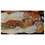 Αφίσα Gustav Klimt -  WaterSerpents II 1907