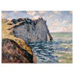 Αφίσα Claud Monet - The cliff of Aval Etretat 1885