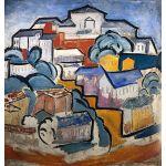 Αφίσα Olga Rozanova - Cityscape 1912