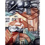 Αφίσα Olga Rozanova - Cityscape ii 1912