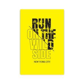Αφίσα Run on the Wild