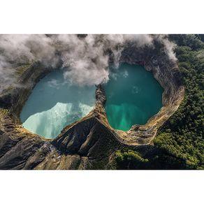 Αφίσα Kelimutu volcano