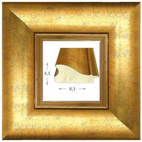 Κορνίζα ξύλινη - Χρυσή 4.5εκ.Χ8.3εκ.