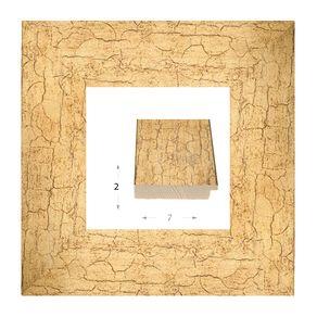 Κορνίζα ξύλινη - Χρυσή 2εκ.Χ7εκ.