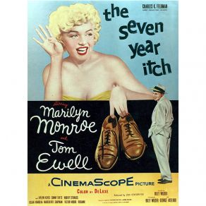 Αφίσα The Seven Year Itch 1955