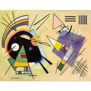 Αφίσα Wassily Kandinsky - Black and Violet 1923