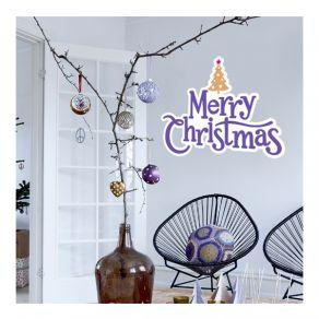 Αυτοκόλλητο Merry christmas 16