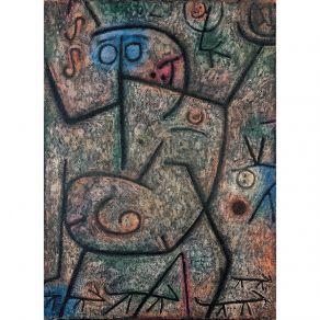 Αφίσα  Paul Klee - Oh! these rumors!