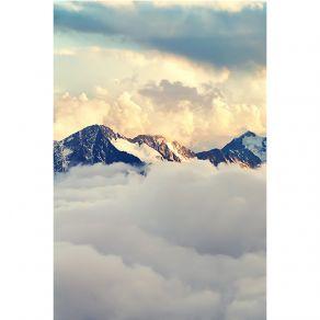 Αφίσα Κορυφή πάνω απο τα σύννεφα