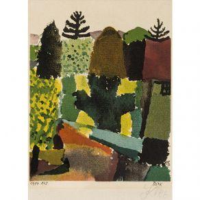 Αφίσα  Paul Klee -  Park 1914