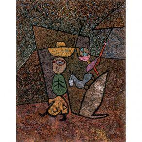 Αφίσα  Paul Klee - Traveling Circus 1937
