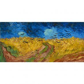 Αφίσα Vincent Van Gogh - Wheatfield with Crows 1890