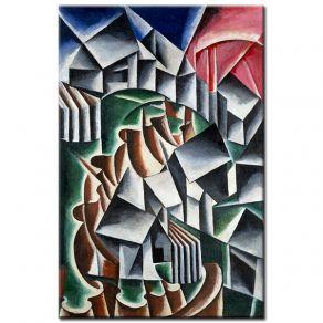 Πίνακας  Lyubov Popova - Birsk 1916