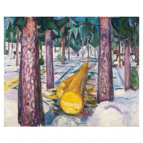 Αφίσα Edvard Munch - The Yellow Log 1912