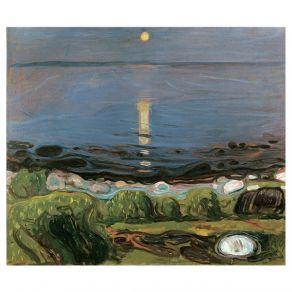 Αφίσα Edvard Munch -  Summer night by the beach 1902