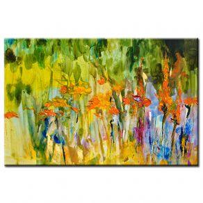 Πίνακας Abstract flowers